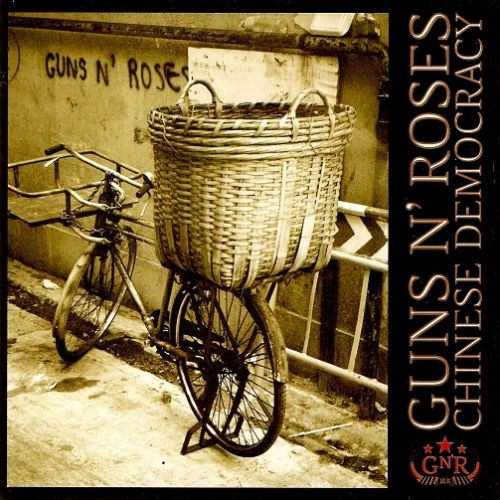 GUNS N' ROSES Chinese Democracy CD Album Geffen 2008